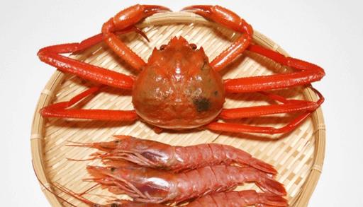 猫に有害な食べ物 甲殻類(エビ、カニ etc)頭足類(イカ、タコ etc)
