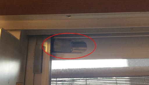 扉や窓、網戸の閉め忘れに注意 網戸ロック