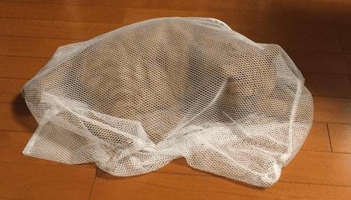 あると便利な猫グッズ 洗濯ネット